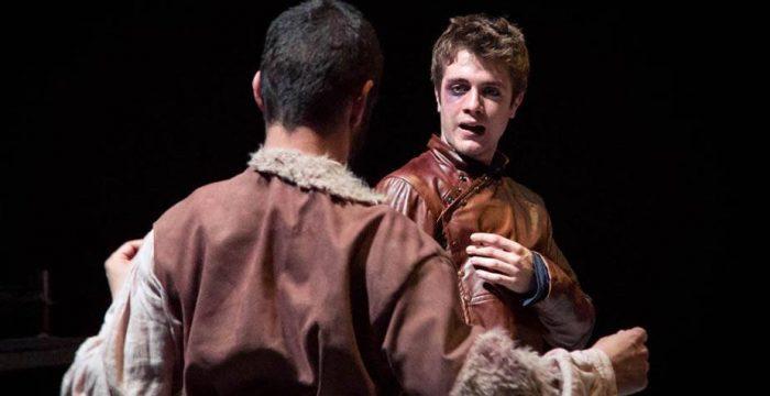 Momento de la representación de 'El rufián dichoso', de la Fundación Siglo de Oro y la Fundación de la Universidad Internacional de La Rioja (UNIR)
