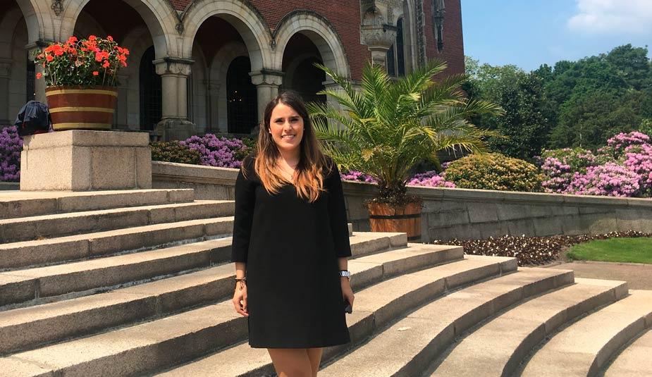 La alumna del Grado de Derecho, Maite Cerezo