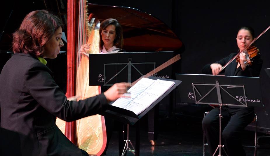 Marta Vela directora concierto Cultural Rioja