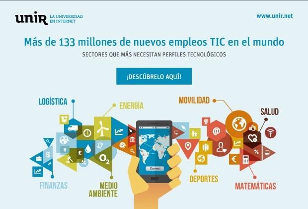 Los sectores que más requieren profesionales TIC