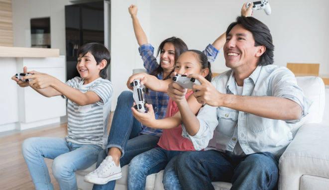 Los videojuegos reinan en las casas.