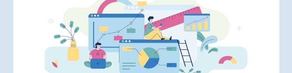 Marketing, machine learning, dibujo de datos